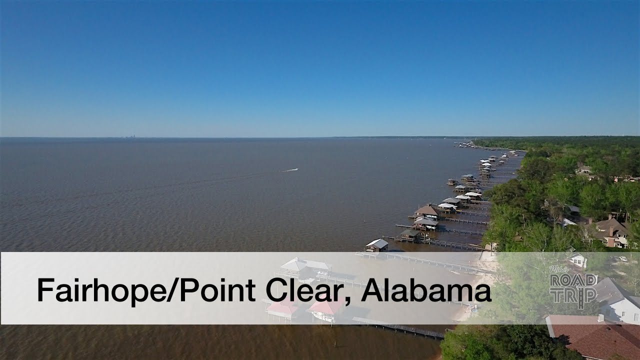 Fairhope Point Clear Alabama Road