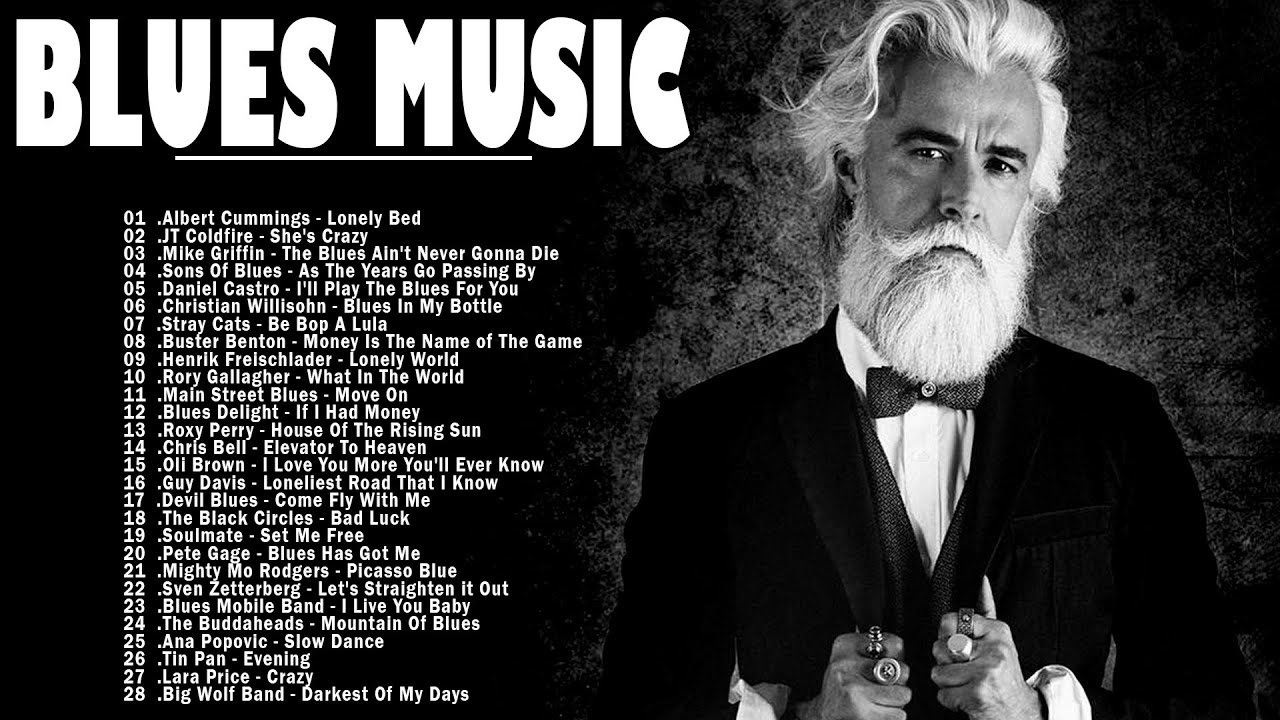 Download Blues Music | Greatest Blues Rock Songs Of All Time | Best Of Slow Blues / Blues Rock Ballads Music