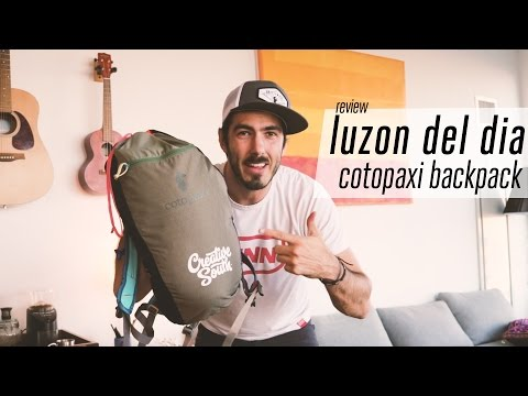 In Depth - Cotopaxi Luzon 18L Backpack Review [vlog]