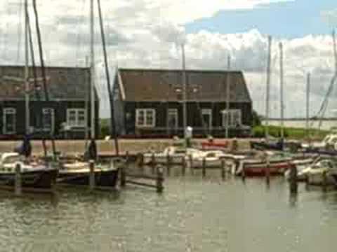 Marken, Holland - A View from the Marken Port