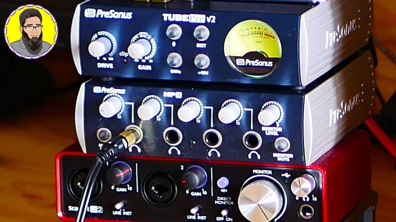 39f991e4661 PreSonus HP4 Headphone Amplifier Unboxing & In-Depth Review! - YouTube