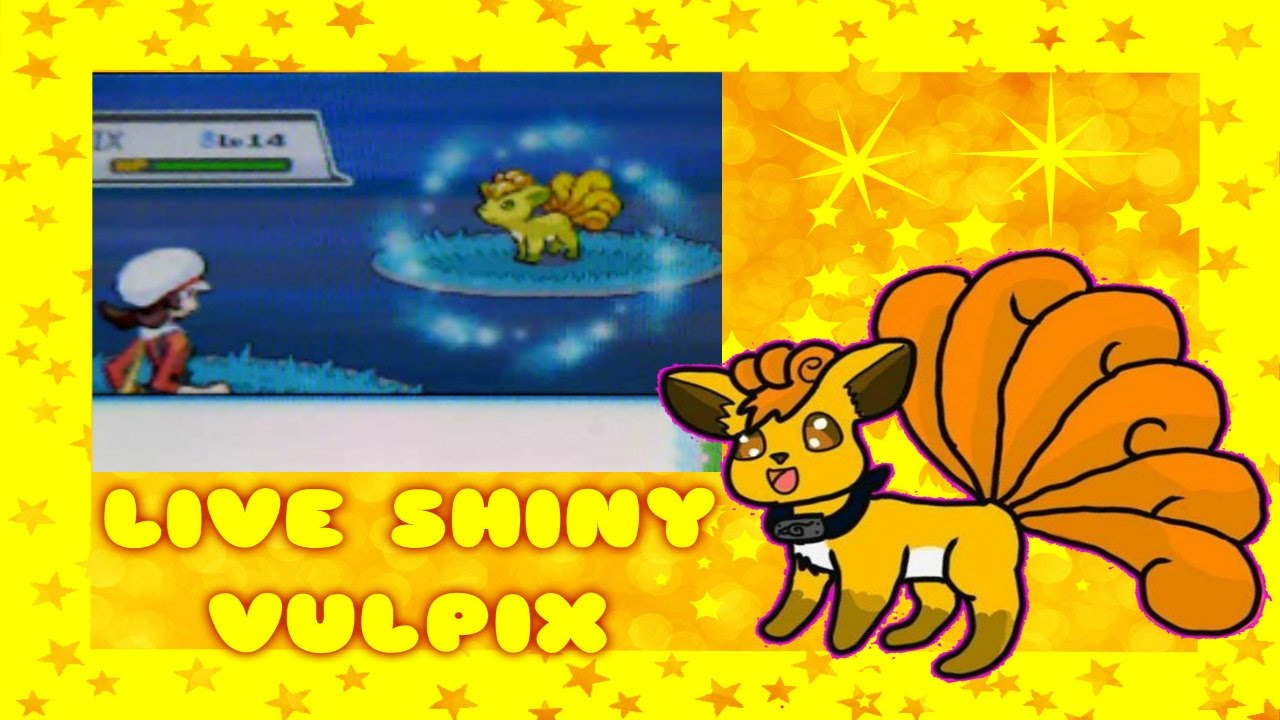 (LIVE SHINY VULPIX AFTER ONLY 882 RE SS)