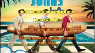 Jonas Brothers L.A Your Biggest Fan [Sing-Along] Lyrics