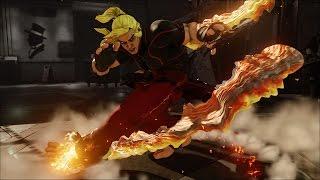 STREET FIGHTER V Ken 22 hit! - Wuyi-Ha (Ken) VS MiShenron (Karin)