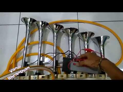 വണ്ടി ഭ്രാന്തന്മാർക് വേണ്ടി - All MUSIC of KERALA TOURIST BUS Musical Air Horn