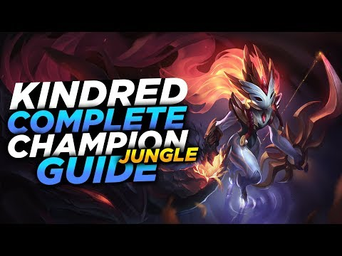 KINDRED IS OP AGAIN! FINALLY META!! SEASON 8 KINDRED GUIDE!  League of Legends