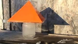 Пирамиды и замерзание воды на морозе