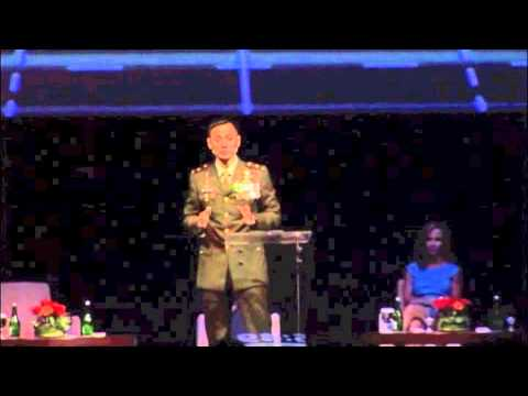 Major Inf. Agus Yudhoyono Remarks at The International Conference on Futurology -II