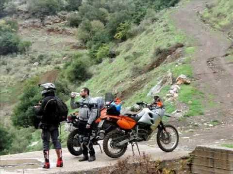Travel Enduro around Argolida mountains