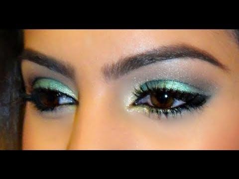 Maquiagem para madrinha de casamento vestido verde claro
