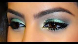 Maquiagem Verde SUAVE (Passo a Passo)