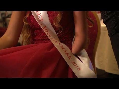 شاهد: متسابقة على لقب ملكة جمال الدنمارك بذراع واحدة  - 22:53-2018 / 9 / 14