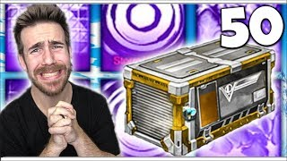 MY FINAL CHANCE TO UNBOX A MYSTERY DECAL - 50 VICTORY CRATE OPENING!