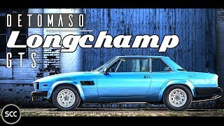 DE TOMASO LONGCHAMP GTS 1989 - Test drive in top gear - V8 Engine sound | SCC TV