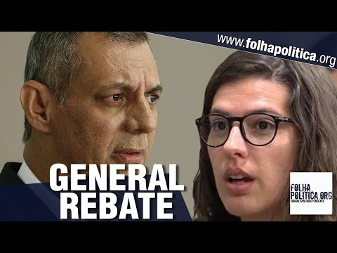 General Rêgo Barros rebate jornalista após ela chamar Bolsonaro de contraditório e depreciá-lo