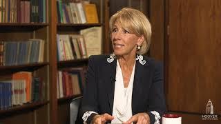Secretary Betsy DeVos on Education Freedom Scholarships  - Uncommon Knowledge Interview