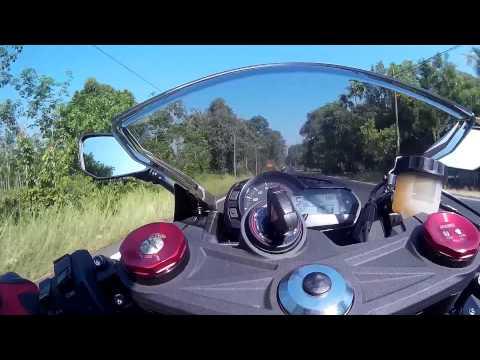 Malaysia Ghost Rider - FULL Video Ride To Grape Farm with Juru Bikers