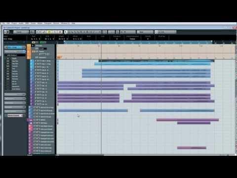 Blakus - Kung Fu Panda Mockup - Cubase Template Walkthrough