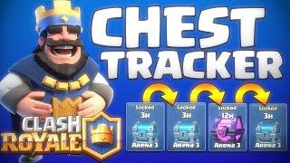 Clash Royale: Chest Tracker! | Clash Royale Chest Pattern Revealed!