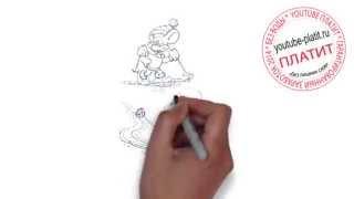 Кот Леопольд мультфильм смотреть онлайн  Как нарисовать кота Леопольда