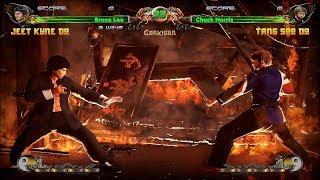Bruce Lee vs Chuck Norris, Shaolin vs Wutang (PC/Steam Gameplay)