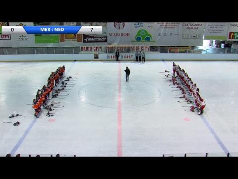 IIHF Women's WC Slovenia (MEX - NED)