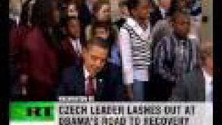 Topolanek: Obama's plan's 'hellish'