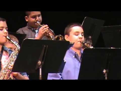 Emmanuel Ornelas-Trumpet solo; Kepley Middle School May 16, 2013