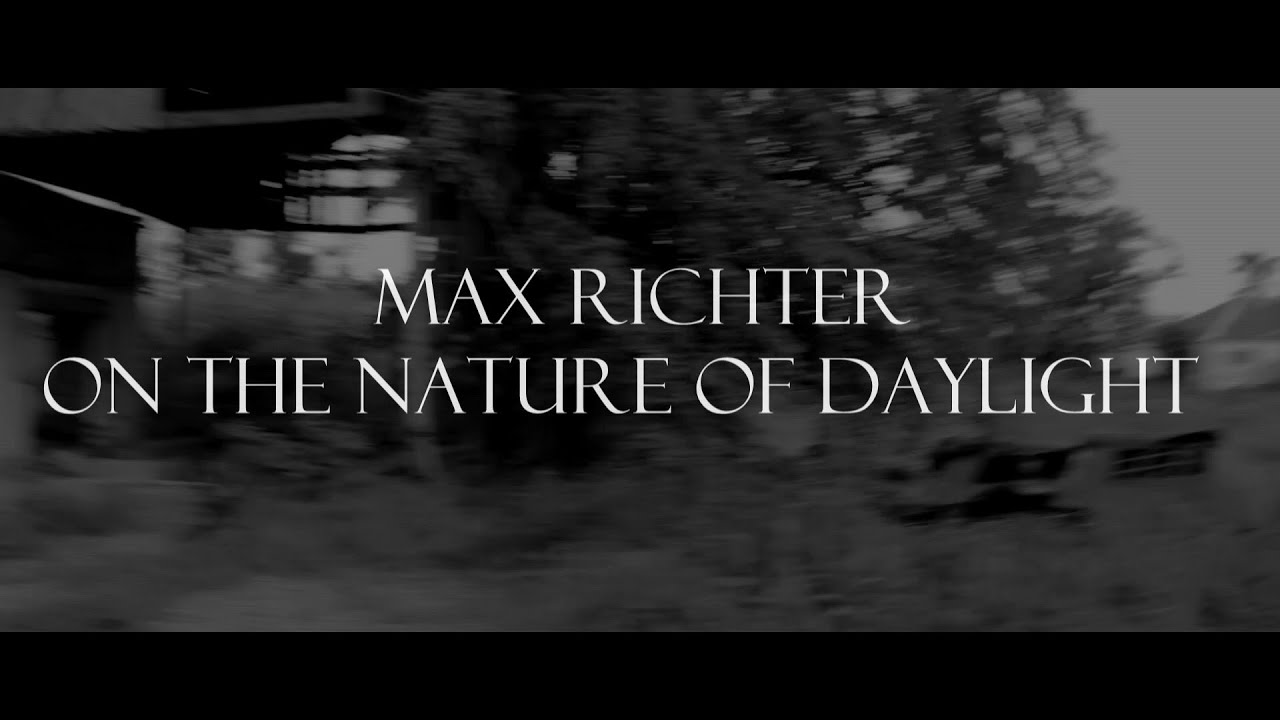 On the Nature of Daylight - Max Richter(Fingerstyle guitar ...