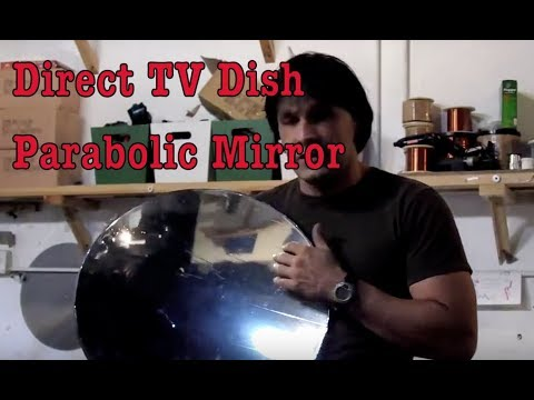 DIRECT TV SOLAR DISH UPGRADE CHEMICAL STRIPPER