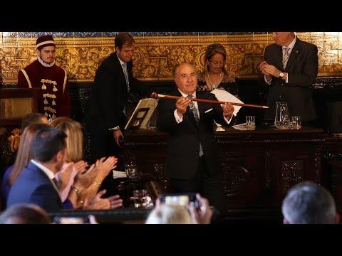 Acto de constitución del nuevo Gobierno del Ayuntamiento de Algeciras