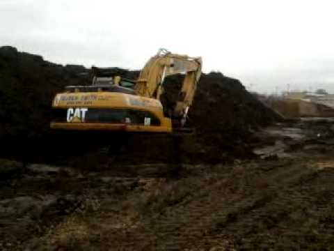 reuben smith plant hire 320 stuck