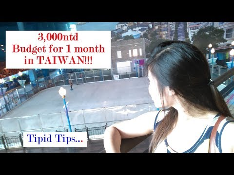 3,000 nt?Budget for 1 month-Factory worker in taiwan vlog