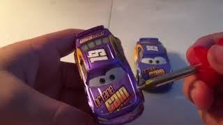 Disney Pixar cars 3 Metallic Bobby swift diecast review