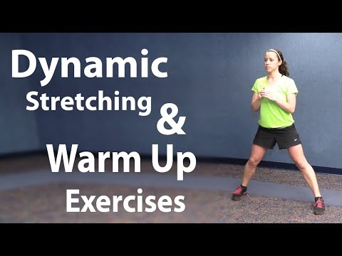 Stretching and Easy Warm Up Exercises - Static and Dynamic Stretching ...