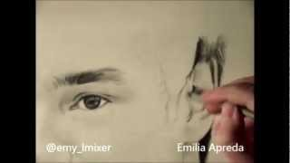@Real_Liam_Payne Liam Payne Drawing Time Lapse By Emilia Apreda