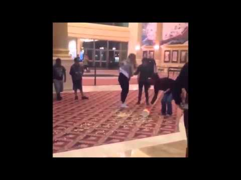 Woman Falls In Movie Theater -- The Longest Fall Ever! (VIDEO)