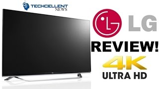 LG UF8500 4K TV WITH WebOS REVIEW