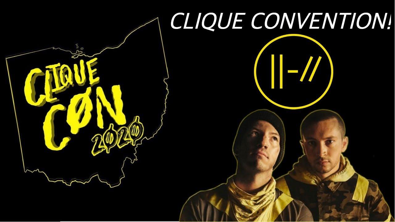 Twenty One Pilots Tour Dates 2020.Clique Convention Summer 2020 Twenty One Pilots