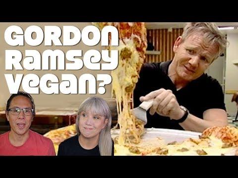 Gordon Ramsay Now Vegan! Or Is He?