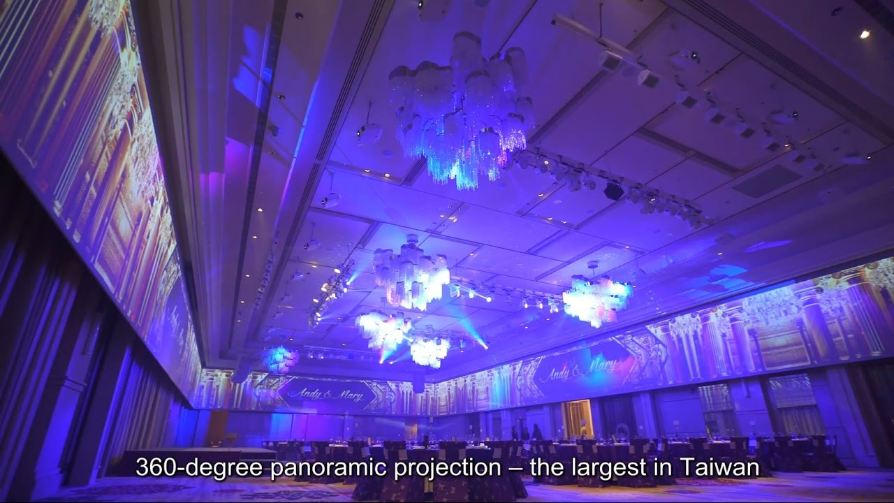 Epson's Projectors Bring Hotel Banquets a New 360-degree Visual Display  Experience