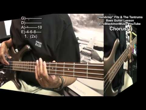 How To Play HANDCLAP Bass Guitar Lesson Fitz And The Tantrums EricBlackmonGuitar HD
