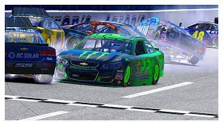 iRacing | Carburetor Cup | Talladega Super Speedway | MENCS | Oval Racing Simulator PC Game YouTube