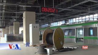 Truyền hình VOA 3/6/20: Dự án Cát Linh-Hà Đông: Hãng TQ đòi VN trả thêm 50 triệu đô