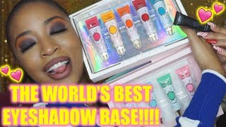 WORLDS BEST EYE SHADOW BASE!? | P.LOUISE BASE REVIEW + UNBOXING