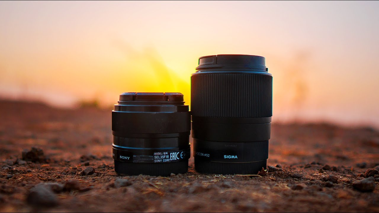 Sigma 30mm F1 4 Vs Sony 35mm F1 8 In Depth Review Youtube