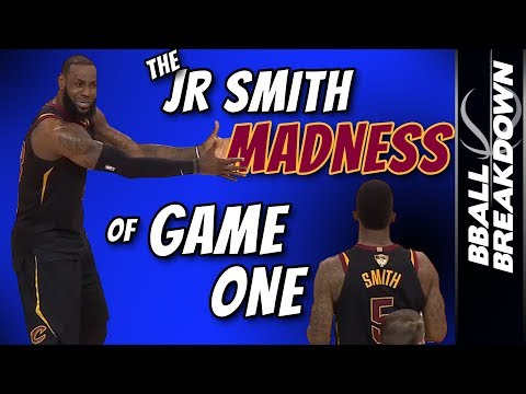 The JR Smith MADNESS Of Game 1