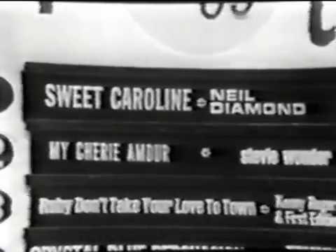 American Bandstand 1969 - Top 10 - Sweet Caroline, Neil Diamond