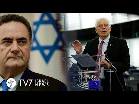 EU warns against Israeli annexation of West Bank - TV7 Israel News 05.02.20