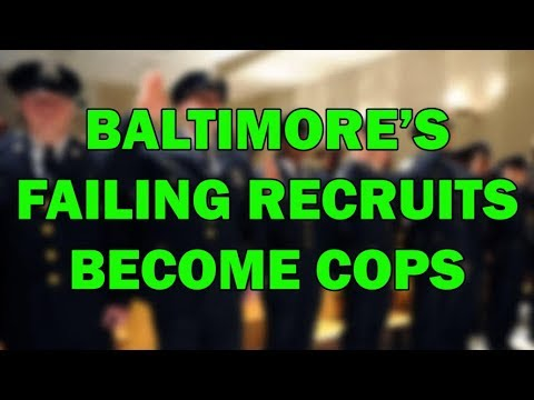 Baltimore Police Are Passing Failing Recruits? - LEO Round Table episode 470
